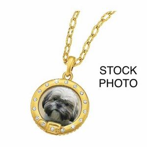 DANBURY Eyes of Love Shih Tzu Swarovski Pendant